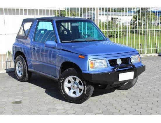 Suzuki Vitara 1.6 Jlx Canvas Top 4x4 8v Gasolina 2p