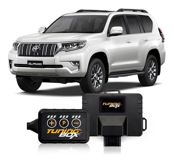 Kit Tuningbox +potencia +aceleración Toyota Prado 3.0 Diesel