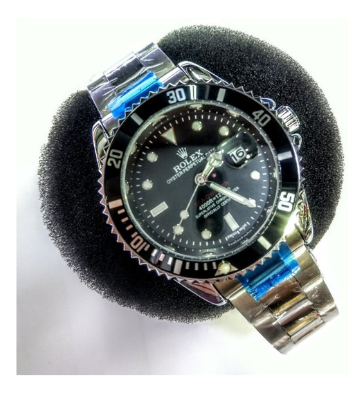 Submariner Black Com Caixa Relogio