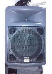 Amplificador/potencia Peavey E Caixas Acusticas