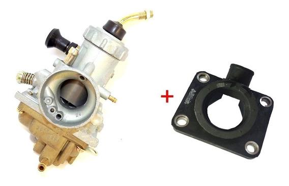 Kit Carburador Completo Rd 135 Rd 125 + Coletor Admissão