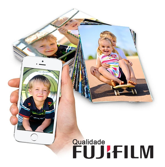 Fotos Digitais - 350 Fotos 10x15 Qualidade Fujifilm