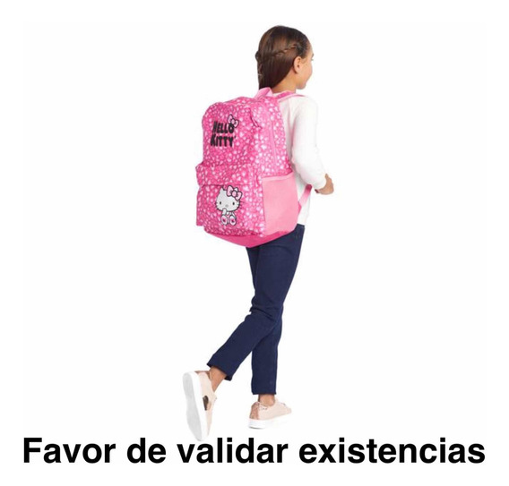 Mochila Hello Kitty Rosa