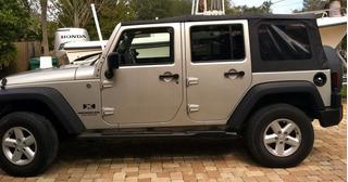 Toldo De Lona Jeep 4 Puertas 2007 - 2017