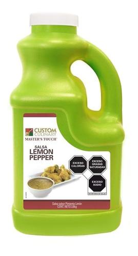 Pimienta Limón Líquido Zafran 3.8 Kilos
