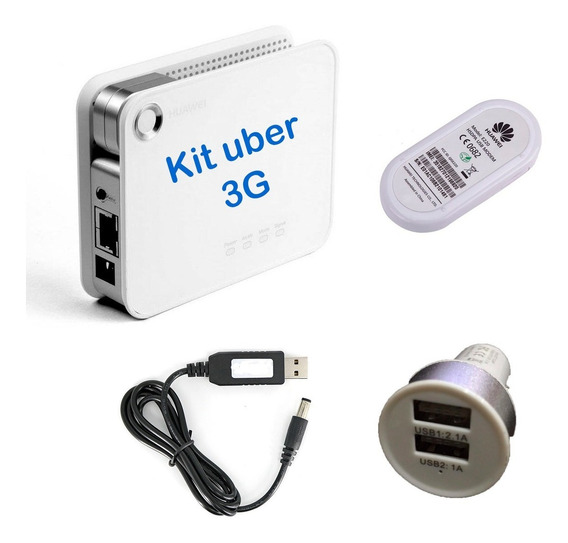 Kit Uber Barato Roteador 3g Wifi Modem 3g Claro Tim Vivo Oi