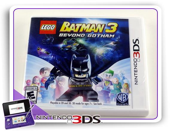 Lego Batman 3 Beyound Gotham Original Nintendo 3ds
