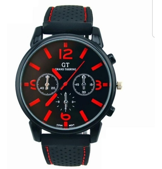 Relógio Masculino Fashion Vermelho