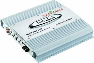Dti Coche Audio Clase D Amplificador Mosfet De Potencia Con