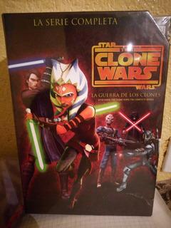 Star Wars Clone Wars Dvd Boxset 1,2,3,4,5