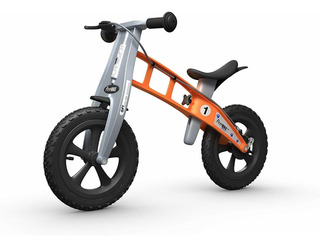 Bicicleta De Cross Con Freno De Firstbike, Anaranjado