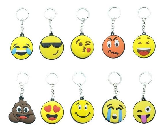 Llavero Emoji Emoticon Regalo Evento Piñata Niños 11 Diseños