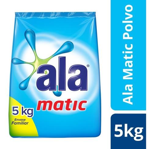 Ala Matic Jabón En Polvo 5kg