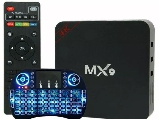 Kit Tvbox 2gb 16gb Transforma Tv Em Smart + Teclado Brinde