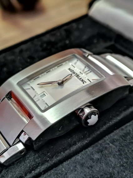 Relógio Montblanc Profile 7048 Pl Quartz Impecável
