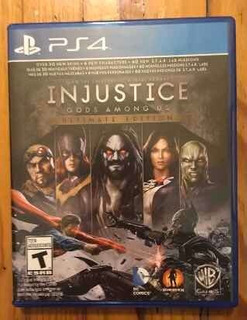 Ps4 Injustice Gods Among Us Ultimate Editionabierto Sin Usar