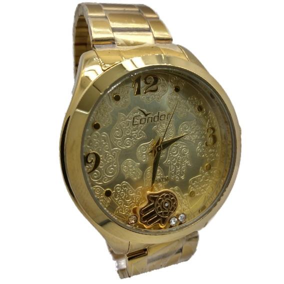Relógio Condor Ref: 2036k Feminino + Brinde
