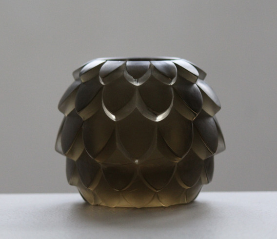 Vidrio Escultórico René Lalique - Firmado