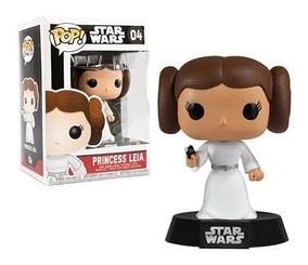 Star Wars Boneco Pop Funko Princesa Leia #04 Pronta Entrega