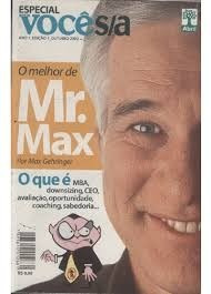 2 Revistas - O Melhor De Míster Max E 10 Gurus Frete Grátis