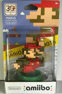 Super Mario Bros 8 Bit, 30 Aniversario Classic Color, Amiibo