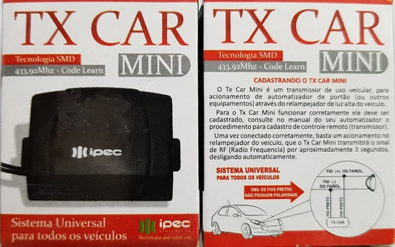 Tx Car 433mhz Ipec