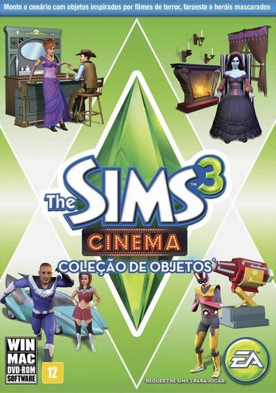 The Sims 3 Cinema Coleção De Objetos Pc *novo*