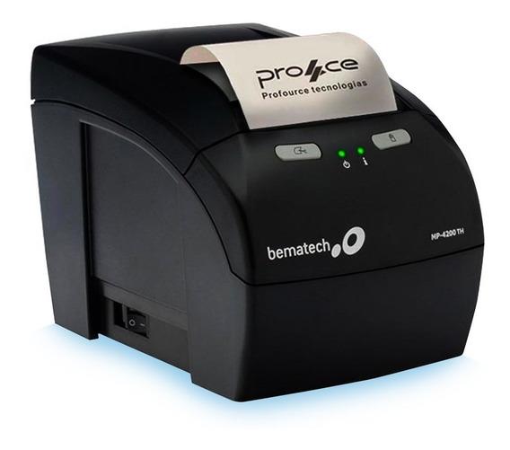 Impressora De Cupom Térmica Bematech Mp 4200 Th Usb