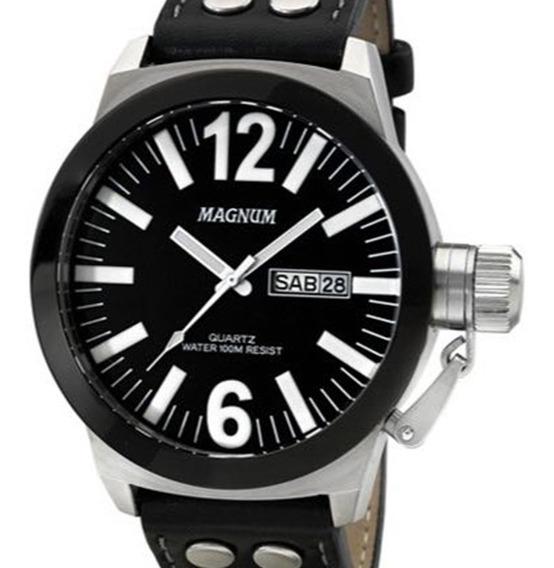 Relógio Magnum Masculino Military Ma31533c Original Com Nota