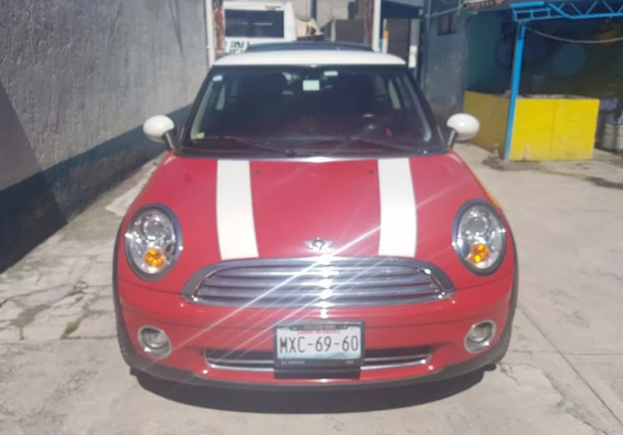 Mini Cooper 2010 1.6 Chili 6vel Aa Tela/piel Qc Mt