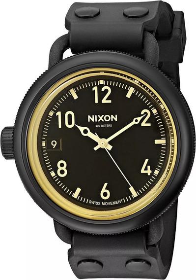 Nixon October A4881354 Casual Caucho 48mm. Tiempo Exacto