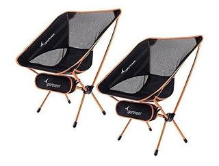 Sportneer Portable Ligera Silla De Camping Plegable, Paquete