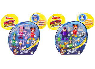 Mickey And The Roadster Racers Pack X 5 Figuras