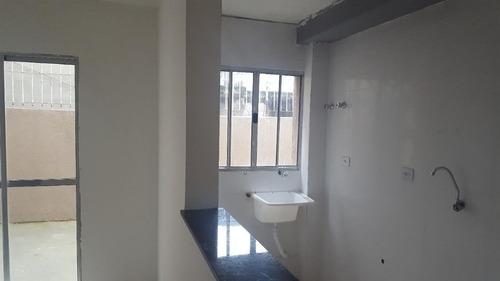 Imagem 1 de 30 de Plano Minha Casa, Minha Vida  - Apartamento Com Quintal E 2 Dormitórios À Venda, 50 M² Proximo A Estação - - Ap2875
