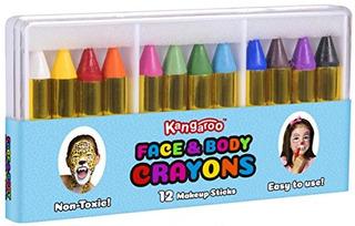 Cara De Canguro Y Lápices De Colores Para El C