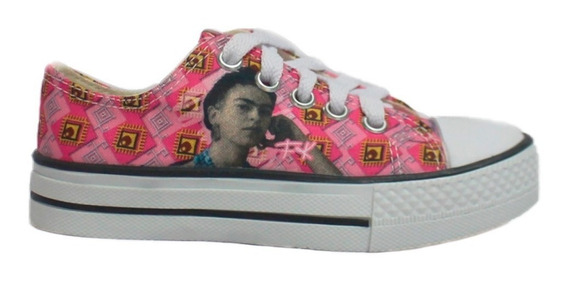 Tenis Fk Frida Kahlo Vive Como Piensas Mujer Panam Pm062