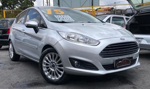 Ford Fiesta Titanium 1.6 Flex Automático Completo 2015