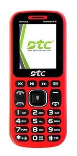 Celular Dtc Myvoice Pro M5 Dual Sim Tela De 1.8 Com Bluetoo