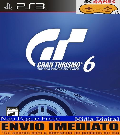 Gran Turismo 6 Ps3 Psn Gt6 Pt Br Envio Na Hora!