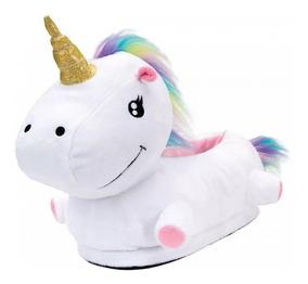 Pantufa Unicornio 3d Ricsen 13818