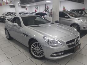 Mercedes-benz Classe Slk 200 Prata 2012 Extremamente Nova