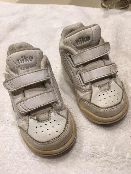 Impecables Zapatillas Nike Originales Cuero Talle22 O 6c