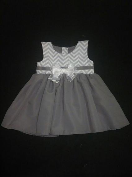 Vestido Infantil Tamanho 2 A 4 Meses