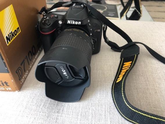 Câmera Digital Nikon D7100 Wi-fi 24.1mp Vídeo Full Hd + Kit