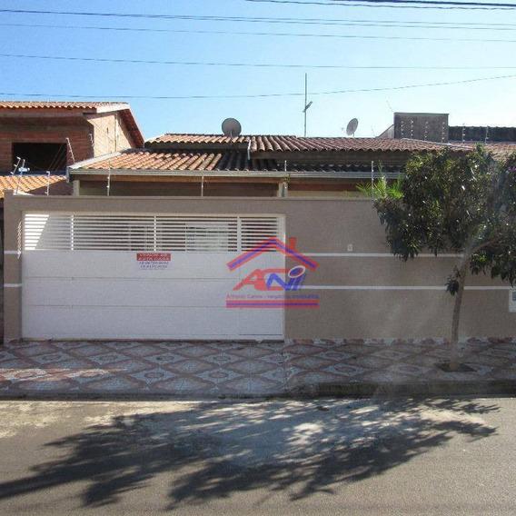 Casa Com 3 Dormitórios À Venda, 160 M² - Jardim Residêncial Firenze - Hortolândia/sp - Ca0066
