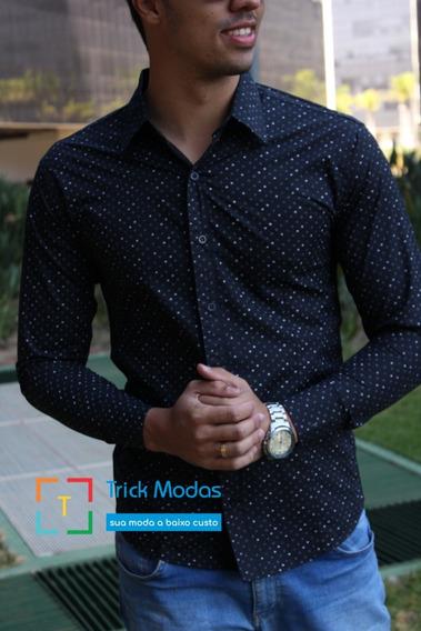 Camisas Social Masculina Slim - Promoção - Atacado - Tam P