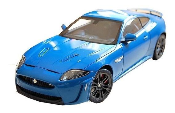 Jaguar Xkr-s Azul 1/18 Autoart 73641