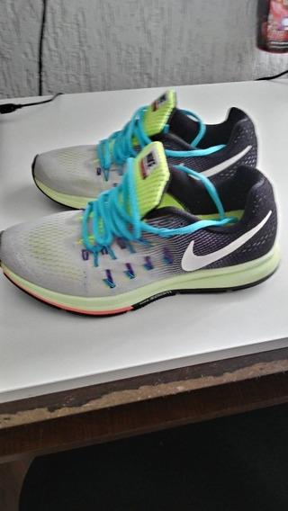 Tenis Nike Modelo Pegasus 33 N°37 Feminino