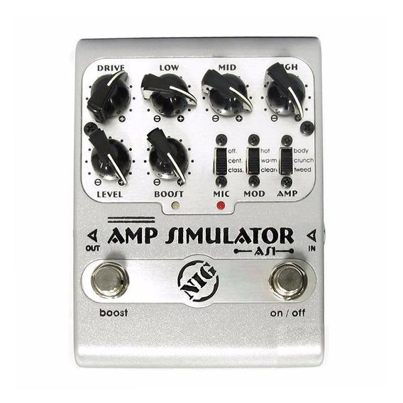 Pedal Nig As1 Amp Simulator As 1