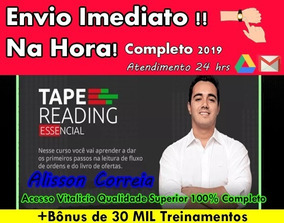 Curso Tape Reading-alisson Correia+30mil Brindes